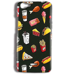Micromax Bolt Q338 Mobile Covers Cases Foodie Design - Lowest Price - Paybydaddy.com
