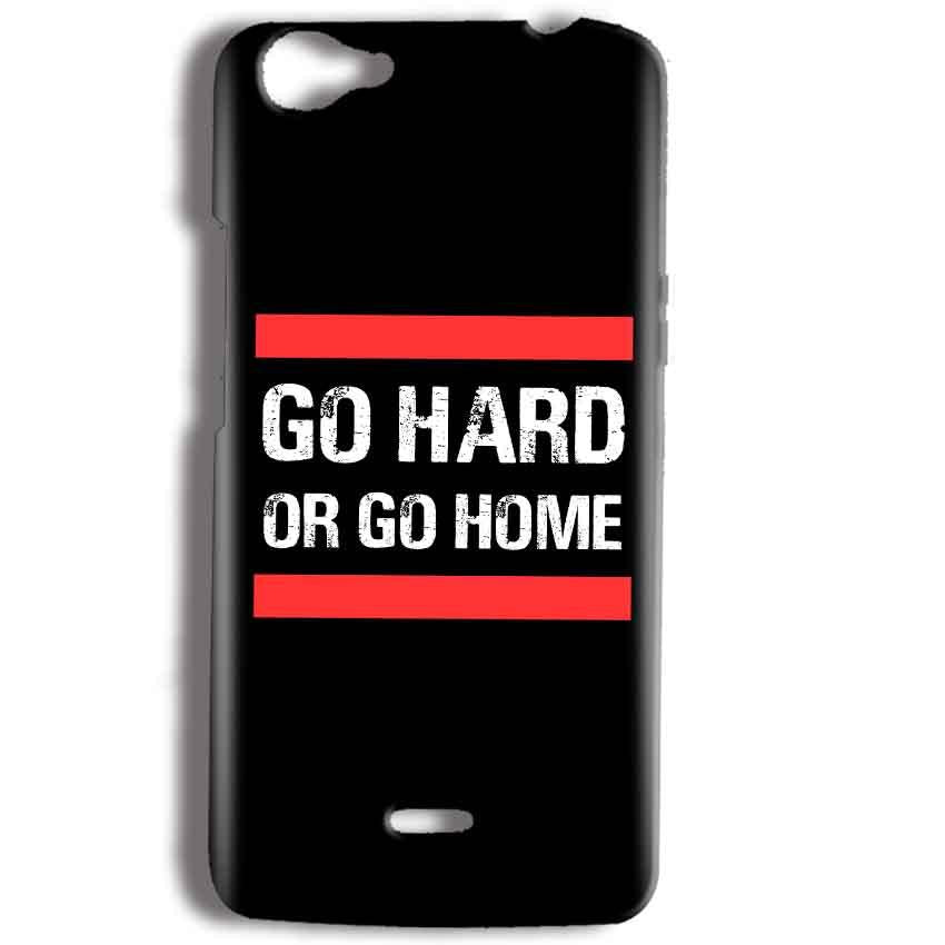 huge sale 01b8a 92c29 Micromax Bolt Q338 Go Hard Or Go Home Back Cover