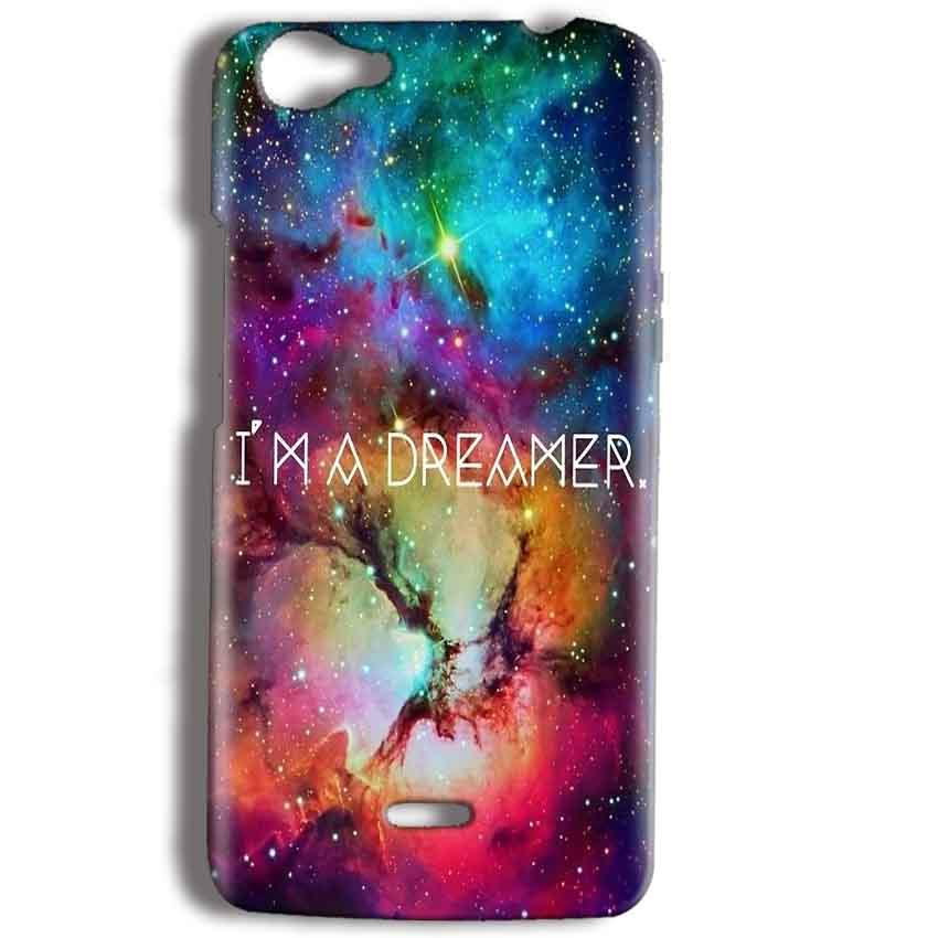 Micromax Bolt Q338 Mobile Covers Cases I am Dreamer - Lowest Price - Paybydaddy.com