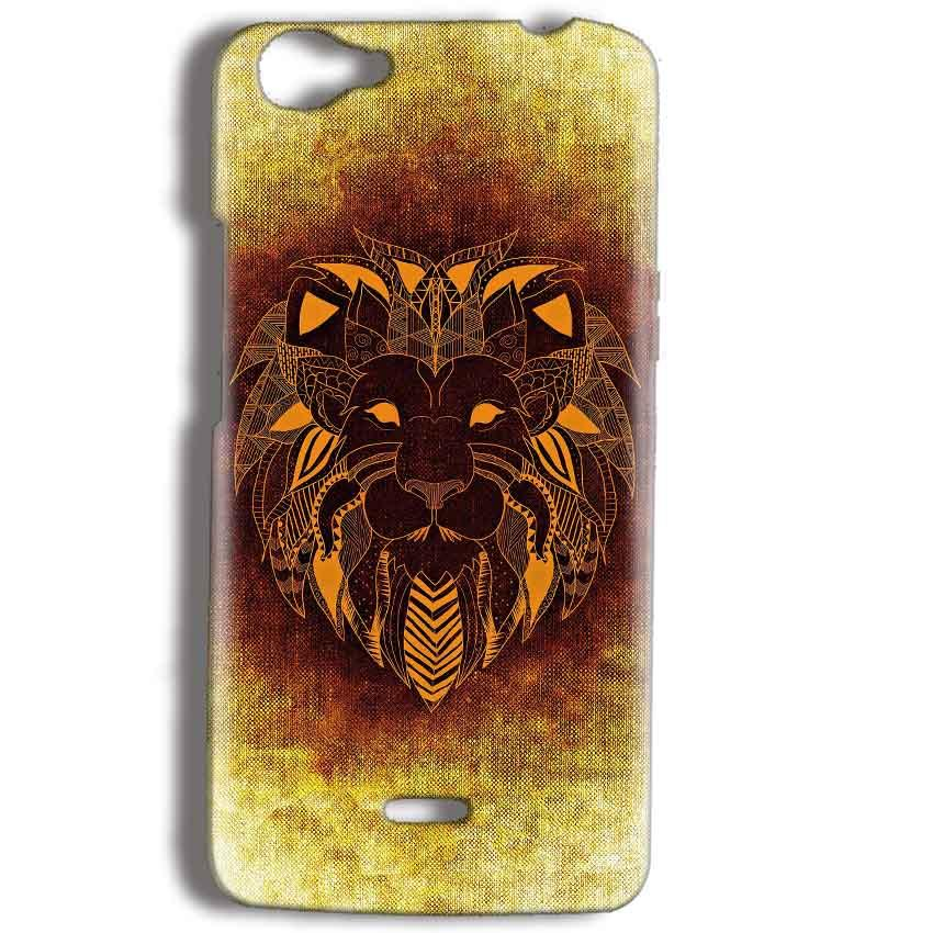 Micromax Bolt Q338 Mobile Covers Cases Lion face art - Lowest Price - Paybydaddy.com