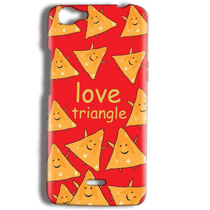 Micromax Bolt Q338 Mobile Covers Cases Love Triangle - Lowest Price - Paybydaddy.com