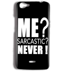Micromax Bolt Q338 Mobile Covers Cases Me sarcastic - Lowest Price - Paybydaddy.com