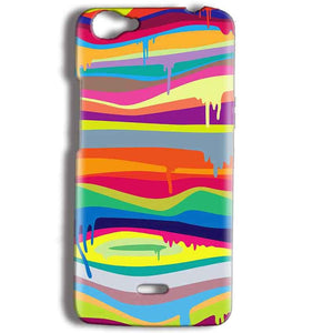 Micromax Bolt Q338 Mobile Covers Cases Melted colours - Lowest Price - Paybydaddy.com