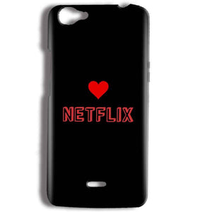 Micromax Bolt Q338 Mobile Covers Cases NETFLIX WITH HEART - Lowest Price - Paybydaddy.com