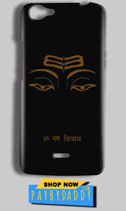 Micromax Bolt Q338 Mobile Covers Cases Om Namaha Gold Black - Lowest Price - Paybydaddy.com