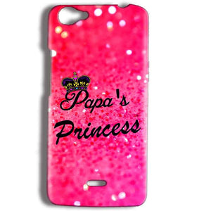 Micromax Bolt Q338 Mobile Covers Cases PAPA PRINCESS - Lowest Price - Paybydaddy.com