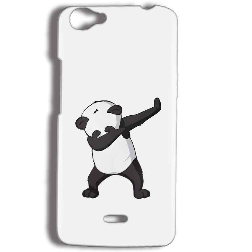 Micromax Bolt Q338 Mobile Covers Cases Panda Dab - Lowest Price - Paybydaddy.com