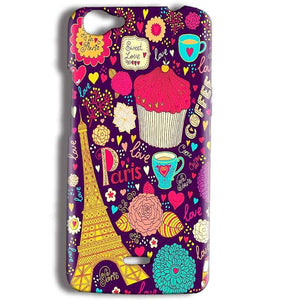 Micromax Bolt Q338 Mobile Covers Cases Paris Sweet love - Lowest Price - Paybydaddy.com