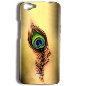 Micromax Bolt Q338 Mobile Covers Cases Peacock coloured art - Lowest Price - Paybydaddy.com