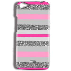 Micromax Bolt Q338 Mobile Covers Cases Pink colour pattern - Lowest Price - Paybydaddy.com