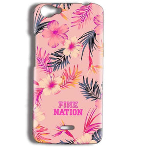 Micromax Bolt Q338 Mobile Covers Cases Pink nation - Lowest Price - Paybydaddy.com