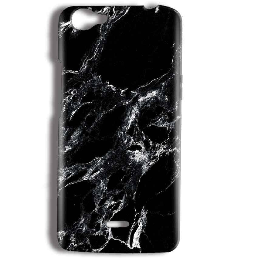 Micromax Bolt Q338 Mobile Covers Cases Pure Black Marble Texture - Lowest Price - Paybydaddy.com