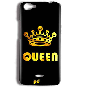 Micromax Bolt Q338 Mobile Covers Cases Queen With Crown in gold - Lowest Price - Paybydaddy.com
