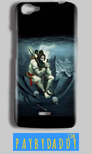 Micromax Bolt Q338 Mobile Covers Cases Shiva Smoking - Lowest Price - Paybydaddy.com