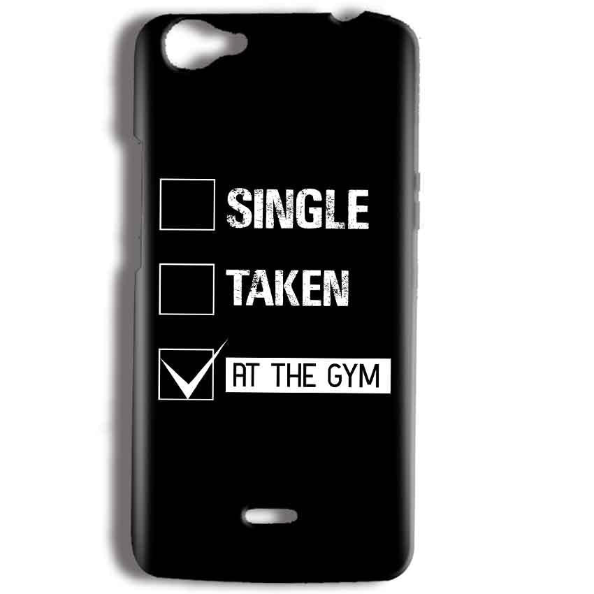 Micromax Bolt Q338 Mobile Covers Cases Single Taken At The Gym - Lowest Price - Paybydaddy.com