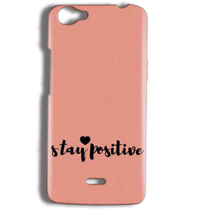 Micromax Bolt Q338 Mobile Covers Cases Stay Positive - Lowest Price - Paybydaddy.com