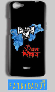 Micromax Bolt Q338 Mobile Covers Cases om namha shivaye with damru - Lowest Price - Paybydaddy.com