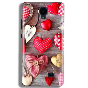 Micromax Bolt Q383 Mobile Covers Cases Hearts- Lowest Price - Paybydaddy.com