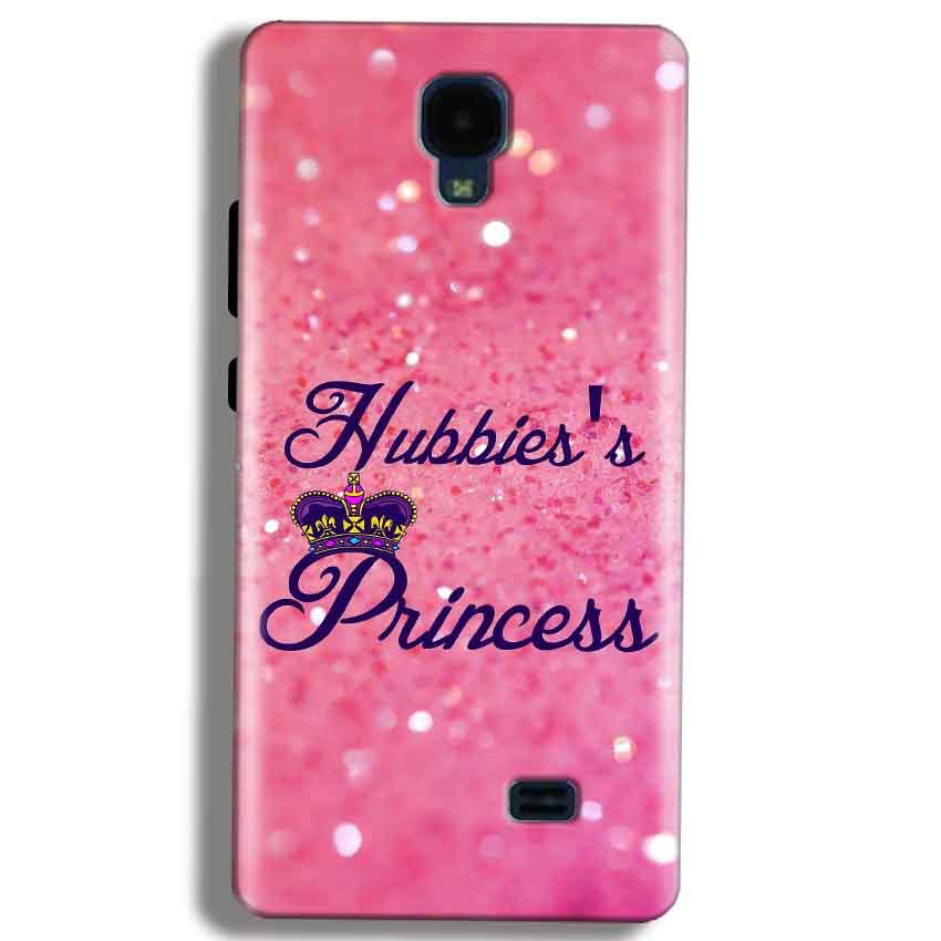 Micromax Bolt Q383 Mobile Covers Cases Hubbies Princess - Lowest Price - Paybydaddy.com