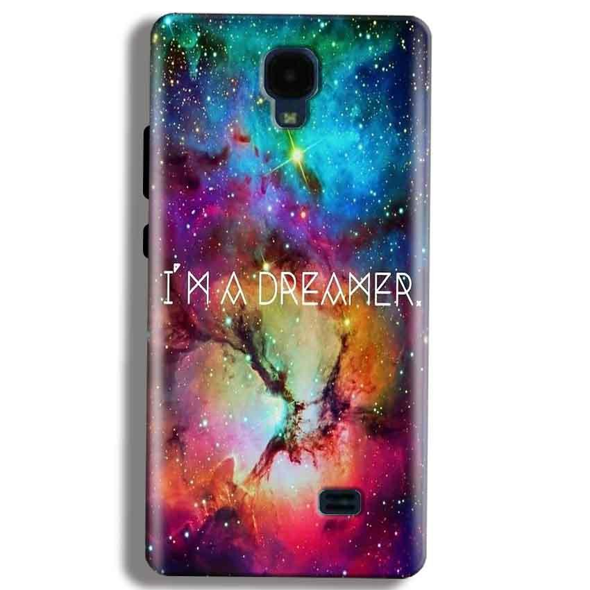 Micromax Bolt Q383 Mobile Covers Cases I am Dreamer - Lowest Price - Paybydaddy.com