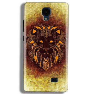 Micromax Bolt Q383 Mobile Covers Cases Lion face art - Lowest Price - Paybydaddy.com