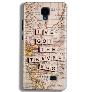 Micromax Bolt Q383 Mobile Covers Cases Live Travel Bug - Lowest Price - Paybydaddy.com