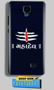 Micromax Bolt Q383 Mobile Covers Cases Mahadev - Lowest Price - Paybydaddy.com