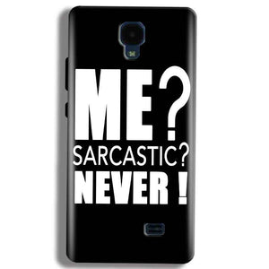 Micromax Bolt Q383 Mobile Covers Cases Me sarcastic - Lowest Price - Paybydaddy.com