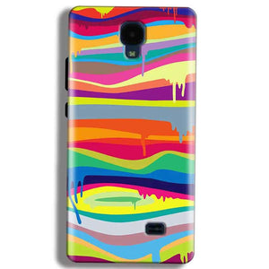 Micromax Bolt Q383 Mobile Covers Cases Melted colours - Lowest Price - Paybydaddy.com