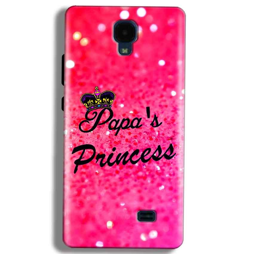 Micromax Bolt Q383 Mobile Covers Cases PAPA PRINCESS - Lowest Price - Paybydaddy.com