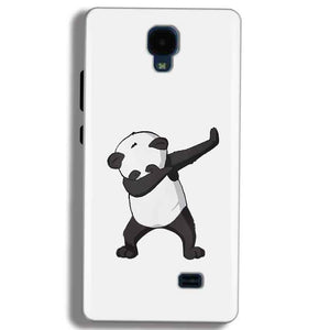 Micromax Bolt Q383 Mobile Covers Cases Panda Dab - Lowest Price - Paybydaddy.com