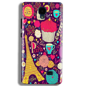 Micromax Bolt Q383 Mobile Covers Cases Paris Sweet love - Lowest Price - Paybydaddy.com