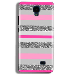 Micromax Bolt Q383 Mobile Covers Cases Pink colour pattern - Lowest Price - Paybydaddy.com