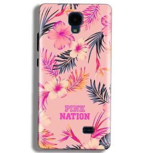 Micromax Bolt Q383 Mobile Covers Cases Pink nation - Lowest Price - Paybydaddy.com
