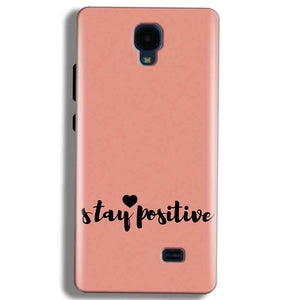 Micromax Bolt Q383 Mobile Covers Cases Stay Positive - Lowest Price - Paybydaddy.com