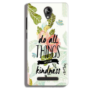 Micromax Canvas 6 Pro Mobile Covers Cases Do all things with kindness - Lowest Price - Paybydaddy.com