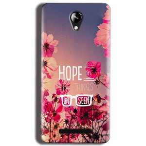 Micromax Canvas 6 Pro E484 Mobile Covers Cases Hope in the Things Unseen- Lowest Price - Paybydaddy.com