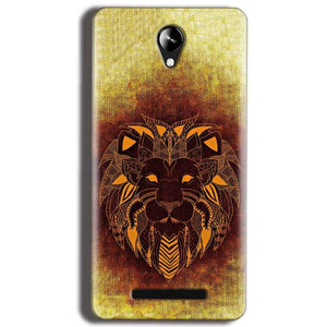 Micromax Canvas 6 Pro E484 Mobile Covers Cases Lion face art - Lowest Price - Paybydaddy.com