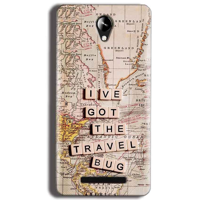 Micromax Canvas 6 Pro E484 Mobile Covers Cases Live Travel Bug - Lowest Price - Paybydaddy.com