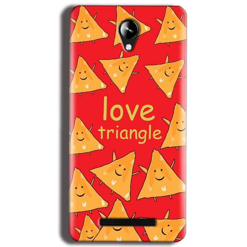 Micromax Canvas 6 Pro E484 Mobile Covers Cases Love Triangle - Lowest Price - Paybydaddy.com