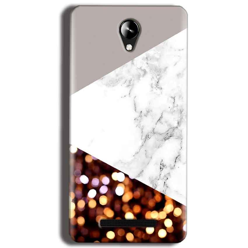 Micromax Canvas 6 Pro E484 Mobile Covers Cases MARBEL GLITTER - Lowest Price - Paybydaddy.com