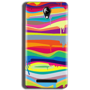 Micromax Canvas 6 Pro E484 Mobile Covers Cases Melted colours - Lowest Price - Paybydaddy.com