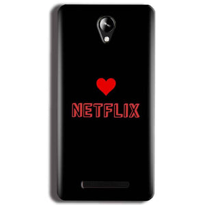 Micromax Canvas 6 Pro E484 Mobile Covers Cases NETFLIX WITH HEART - Lowest Price - Paybydaddy.com