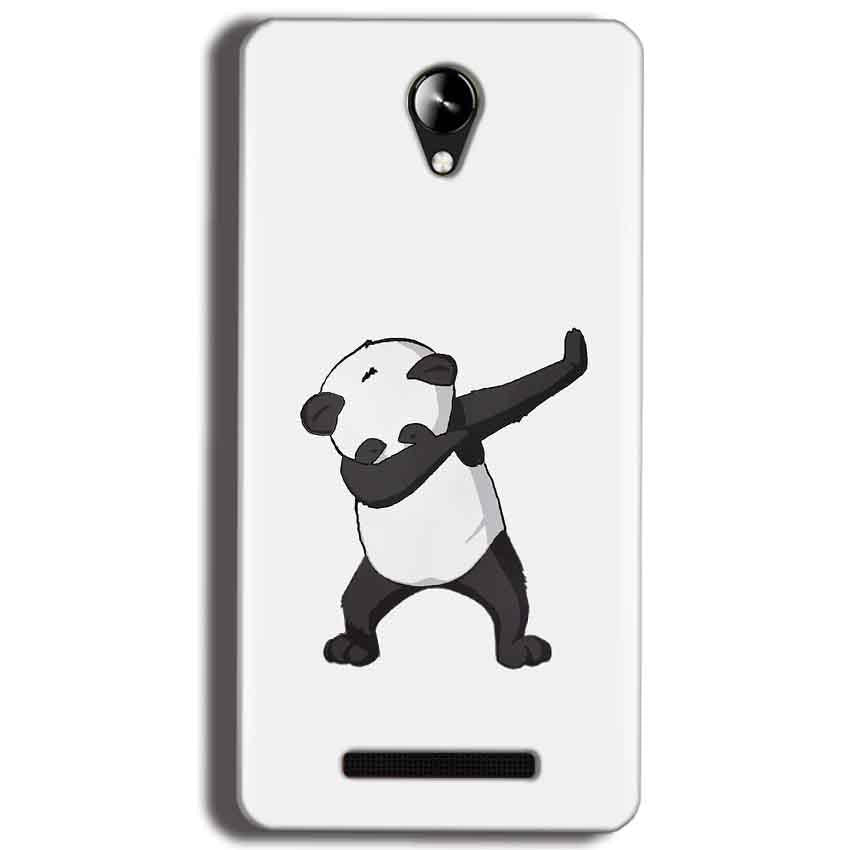Micromax Canvas 6 Pro E484 Mobile Covers Cases Panda Dab - Lowest Price - Paybydaddy.com