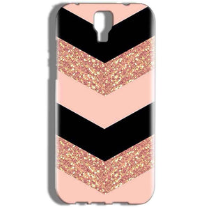 Micromax Canvas Amaze 2 E457 Mobile Covers Cases Black down arrow Pattern - Lowest Price - Paybydaddy.com