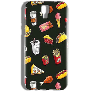 Micromax Canvas Amaze 2 E457 Mobile Covers Cases Foodie Design - Lowest Price - Paybydaddy.com
