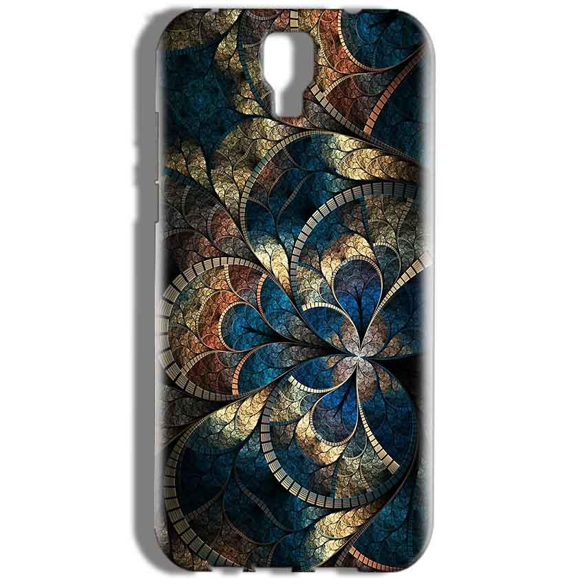 Micromax Canvas Amaze 2 E457 Mobile Covers Cases Gold Colorful Texture Pattern - Lowest Price - Paybydaddy.com