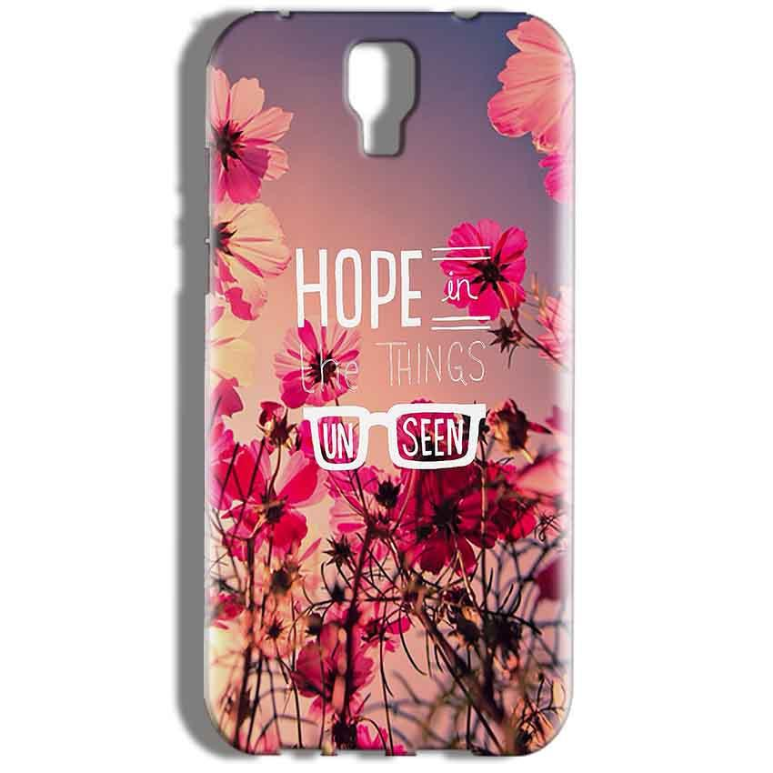 Micromax Canvas Amaze 2 E457 Mobile Covers Cases Hope in the Things Unseen- Lowest Price - Paybydaddy.com