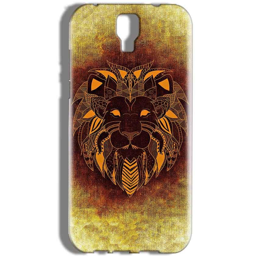 Micromax Canvas Amaze 2 E457 Mobile Covers Cases Lion face art - Lowest Price - Paybydaddy.com