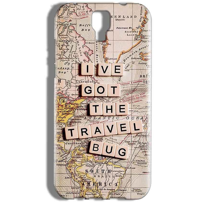Micromax Canvas Amaze 2 E457 Mobile Covers Cases Live Travel Bug - Lowest Price - Paybydaddy.com